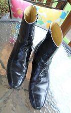 """Florsheim Men'S Vintage Comfortech """"Beatle"""" Boots Black Size 10D Zippers"""