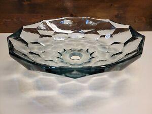 Kohler K-2373-B11 Briolette Vessel Glass Sink (Color: Ice) Above Counter