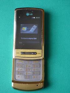 LG KE 970 GOLD MOBILE PHONE