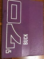 1970 The Buck Hominy High School Okahoma Those were the days Yearbook FH 12