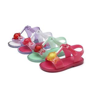 Mini Melissa Sandals Toddler Baby Kids Boys Girls Shoes US Size 7-11