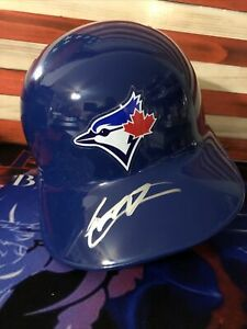 Vladimir Guerrero Jr Autographed Full Size Toronto Blue Jays Batting Helmet JSA