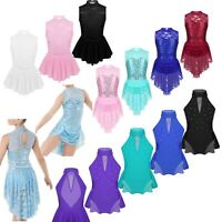 Girls Skating Competition Dress Ballet Lyrical Modern Contemporary Dance Costume