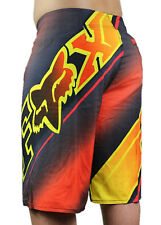 FOX Swimwear Mens Boardshorts Spandex Bermudas Shorts Beach Pants Surf Shorts