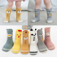 Kids Baby Toddler Infant Socks Soft Warm Floor Sock Cartoon Animal Hosiery