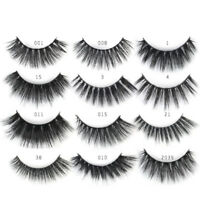 2Pairs / Mixed Natural Long False Eyelashes 3D Faux Mink Eye Lashes Extension