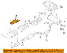 FORD OEM 12-17 Focus 2.0L-L4 Exhaust-Heat Shield Left AV6Z3811779A