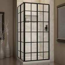 """DreamLine SHEN-8134340-89 72""""H x 34.5""""W x 34-1/2""""D Shower Enclosure"""