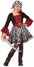 Girls Miss Matey Costume Kids Pirate Costume Caribbean Pirate Size Large 12-14