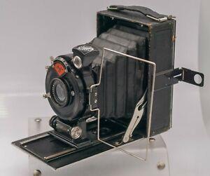 Agfa Standard 204 6.5x9 Film Folding Bed Camera - Stuck Focus/Bad Shutter