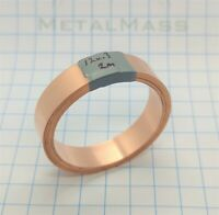 12mm x 0.3mm x 2m High Purity T1 99.96% Low Oxygen Copper Strip Strap battery