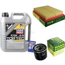 LIQUI MOLY 5L 5W-40 Motor-Öl+MANN-FILTER für Nissan X-Trail T31 2.5 4x4