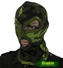 CZECH ARMY STYLE M95 CAMO 3 HOLE BALACLAVA