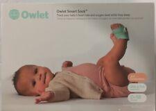 OWLET SMART SOCK 3RD GEN VOICE & BREATHING BABY MONITOR BRAND NEW SEALED