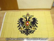 Fahnen Flagge Österreich Ungarn 1815 - 1915 - 90 x 150 cm