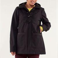 Lululemon Paddington Softshell black Jacket Sz 12