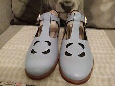 Orla Kiely Clarks,  Pale Blue Bobbie Shoes, UK 7, EUR 41, Retro