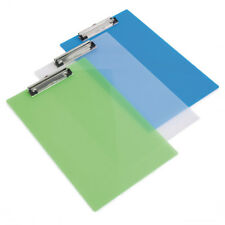 Rapesco Frosted Transparent Clipboard Assorted (Pack of 10) SHP PCBAS