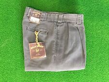 NEW Bills Khakis M2-IWC Pleated Front Weathered Canvas Size 32  MSRP $165