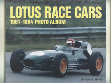 LOTUS  RACE  CARS …. Mint. 1998.  Great photo book.