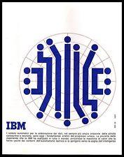 IBM ELABORAZIONE DATI SISTEMI AUTOMATICI AUTOMA INTELLIGENZA COMPUTER 1962