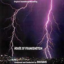HOUSE OF FRANKENSTEIN (TV Mini Series Don Davis) (CD)