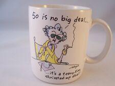 Hallmark Early Maxine Coffee Mug 50 is no big deal.John Wagner 1988
