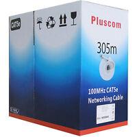 305M Meter RJ45 CAT5e Network UTP Cable For Ethernet PC Laptop Router Modem DVR