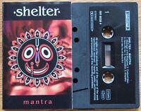 SHELTER - MANTRA (ROADRUNNER RR89384) 1995 EUROPE CASSETTE HARDCORE HARE KRISHNA
