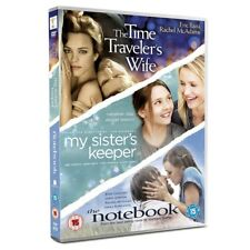 The Notebook My Sister's Keeper Time Traveller's Wife DVD 3 Disc Set Set R2