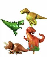 4 XL Dinosaur Party Super Shape Foil Balloon Party Decoration FREE SHIPPING