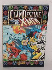 CLAN DESTINE versus THE X-MEN TPB - Alan Davis MARK FARMER - Marvel GN Trade