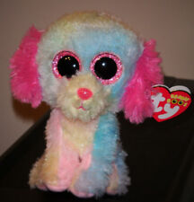 """Ty Beanie Boos ~ LOVESY 6"""" Dog (2014 Justice Exclusive) MINT with MINT TAGS"""