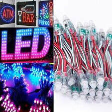 50PCS LED String RGB Full Color 12mm Pixels Digital Addressable 5V DC
