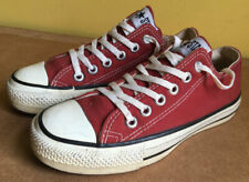 Vintage Converse Chuck Taylor Shoes Made in USA Maroon Sneakers Size 4.5