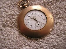 Vintage Women's Ladies Buren Imperial 7 Jewels Pocket Watch