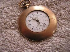 Vintage Women's Ladies Buren Imperial 7 Jewels Pocket Watch
