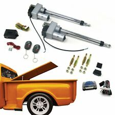 Dual Bolt-on Power Tonneau Cover Hard Top Lift Actuator Kit w/ Remote Control XL