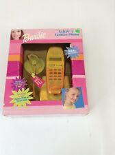 NIB Barbie Talk 'N Style Barbie Fashion Phone