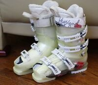 ROSSIGNOL ELECTRA S3 90 SKI BOOTS SIZE 23.5 WOMEN SIZE 6.5