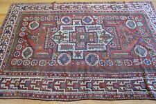 Rare Antique c.1880 Bergama Turkish Hand-Knotted Wool Oriental Rug 5 X 6.8(5x7)