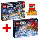 LEGO STAR WARS BUNDLE 75097 + 75146 CALENDARIO DELL'AVVENTO NATALE NUOVI NEW