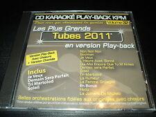 """CD NEUF """"KARAOKE PLAY-BACK KPM, VOLUME 32 : TUBES 2011"""" Zaz, Ben l'oncle soul, C"""