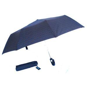 Umbrella Grey-Black Pocket Short Foldable Pocket - PERLETTI