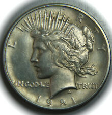 1921 Peace Silver Dollar - High Relief - Key Date - $1 - No Reserve!