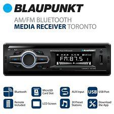 Blaupunkt  AM/FM Radio Media Receiver - Bluetooth, Easy Installation, Remote