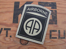 SNAKE PATCH -- 82 AIRBORNE - 82nd AB - WW2 PARA - TAN SABLE DESERT US ARMY OPS