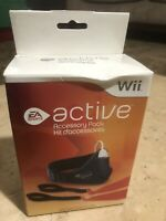 Nintendo Wii Active Accessory Pack EA New in Package Leg Strap Resistance Band
