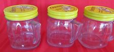 Vintage Osterizer  1/2 Pint Mini Blend Containers  Set Of 3