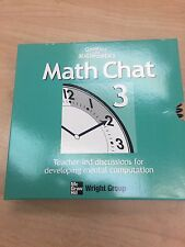Math Chat Grade 3 Growing With Mathematics- Huge Savings!